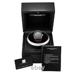 Porsche Design Datetimer Swiss Automatic Leather Strap Watch 6020.3.03.004.07.2