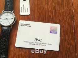 RARE INTERNATIONAL WATCH IWC Portofino Classic Collection Automatic IW351324 NEW