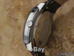 Rado Cosmic Swiss 1960 Automatic Men 35mm Vintage Stainless Steel Watch JR235