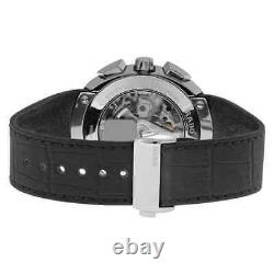 Rado D-Star Automatic Black Dial Black Leather Men's Watch R15556155