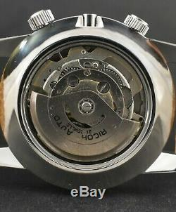 Ricoh World Timer GMT 61215A Automatic 21 Jewels 1970-1979 Men's Wrist Watch