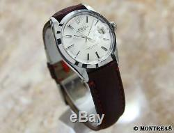 Rolex 1500 Swiss Made Automatic 35mm Mens Stainless Steel 1969 Watch J114