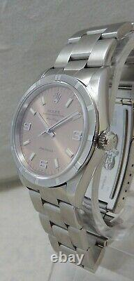 Rolex Oyster Perpetual Air-King SS Mens 34mm Watch All Original Oyster Band 1998