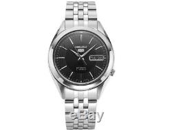 SEIKO 5 SNKL23K1 Automatic 38mm Black Dial Stainless Steel Mens Watch