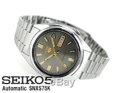 SEIKO 5 SNXS75 SNXS75K1 21 Jewels Automatic 30m Last 1