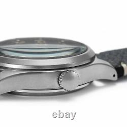 SEIKO 5 Sports SRPG39K1 Automatic Blue Dial Black Leather Strap Watch WARRANTY