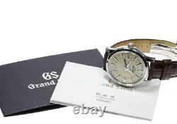 SEIKO Grand Seiko SBGM021 9S66-00A0 Date GMT beige Dial Automatic Men's 553225