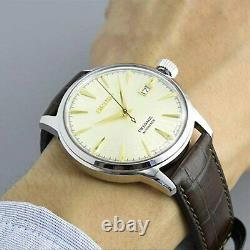 SEIKO Presage SRPC99J1 Cocktail Time Golden Champagne Automatic Japan Made Watch