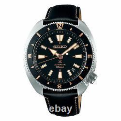 SEIKO Prospex Tortoise Land SRPG17K1 Automatic Black Dial Men's Watch WARRANTY