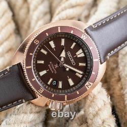 SEIKO Prospex Tortoise Land SRPG18K1 Automatic Brown Dial Men's Watch WARRANTY