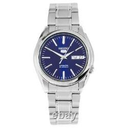 Seiko 5 Automatic Blue Dial Stainless Steel Mens Watch SNKL43K1 RRP £169