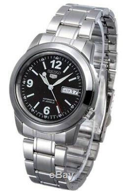 Seiko 5 Automatic SNKE63J1 Black Dial Stainless Steel Men's Watch