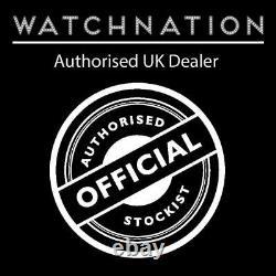 Seiko 5 Automatic White Dial Silver Steel 38mm SNKK65K1 Men's Watch RRP £169