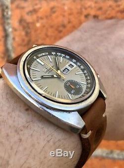 Seiko Chronograph Automatic 6139 6060T Men's Wristwatch ORIGINAL