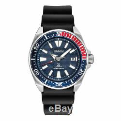 Seiko Men's Automatic Prospex Samurai Divers 200M Watch SRPB53