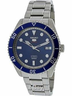 Seiko Men's SRPB89K Silver Stainless-Steel Automatic Fashion Watch