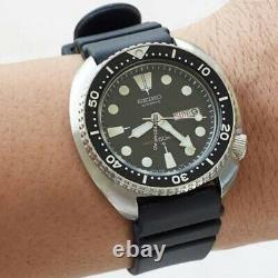 Seiko SRPE93 Prospex Automatic Diver Black Dial Silicone Strap Men's Watch