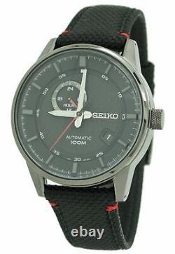 Seiko Sports Men's Automatic Black Dial Watch SSA383