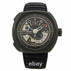 Seven Friday V-series Stainless Steel Black Automatic Mens Watch V3/01