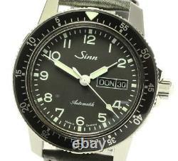Sinn 104 Day date black Dial Automatic Men's Watch 581469