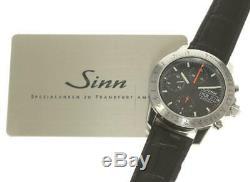 Sinn 303 Chronograph Day date black Dial Automatic Men's Watch 533047