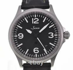 Sinn 656 Anti-Magnetic SS/Leather black Dial Automatic Men's Watch P#104326