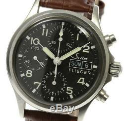 Sinn Flieger 356 Chronograph black Dial Automatic Men's Watch 532868