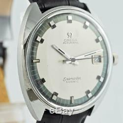 Special Vintage Gents Omega Swiss Seamaster Cosmic Automatic Quickset Date Steel