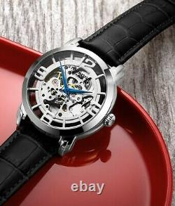 Stuhrling 3964L Mens Legacy 44 mm Skeleton Automatic Self Wind Automatic Watch