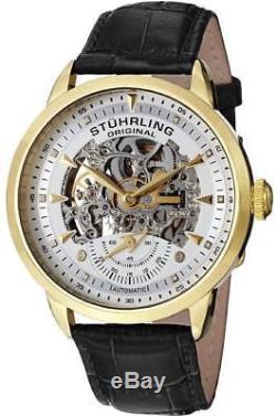 Stuhrling Original 133 33352 Aristocrat Executive Automatic Skeleton Mens Watch