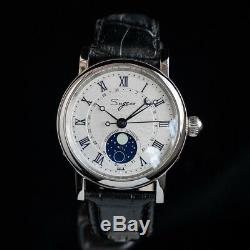 Sugess Genuine Moonphase Master Automatic Mechanical Mens Watch SU2108SBE