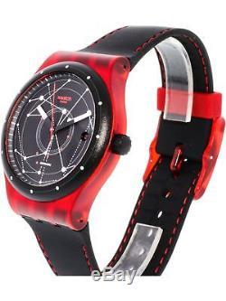 Swatch Men's Sistem51 SUTR400 Black Rubber Swiss Automatic Fashion Watch