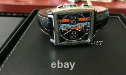TAG HEUER CW211A GULF RACING MONACO 39MM Automatic Chronograph Watch