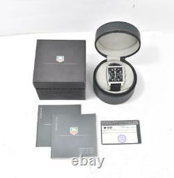 TAG HEUER Monaco CW2111 Chronograph black Dial Automatic Men's Watch T#105167