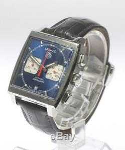 TAG HEUER Monaco Chronograph CW2113-0 Automatic Men's Watch 492927
