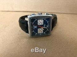 TAG Heuer Monaco Steve McQueen Watch Automatic Chronograph CW2113-0