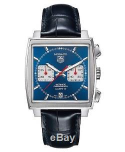 Tag Heuer Monaco Calibre 12 Automatic Chronograph Caw2111. Fc61837