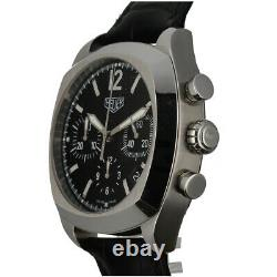 Tag Heuer Monza CR2110 Black Dial Chronograph Stainless Automatic Men's Watch