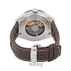 Tissot PRS 516 Blue Dial Automatic Men's Leather Watch T100.430.16.041.00