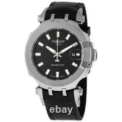 Tissot T-Race Swissmatic Automatic Black Dial Watch T115.407.17.051.00