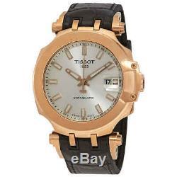 Tissot T-Race Swissmatic Automatic Silver Dial Men's Watch T115.407.37.031.00