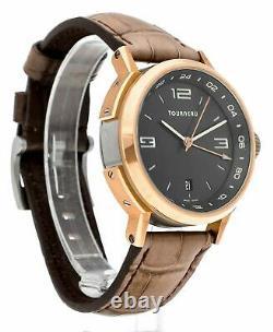 Tourneau TNY Series GMT 18K Rose Gold Automatic Men's 40mm Watch TNY400405005