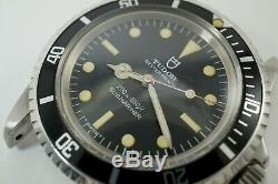 Tudor 7928 Submariner Stainless Steel Automatic Nice Sporty Dates 1966