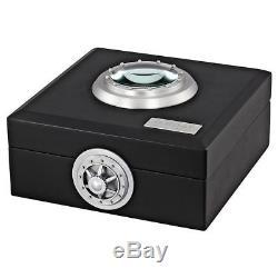 U-Boat 7337 Classico Swiss Automatic Black Dial Black Leather Men's Watch