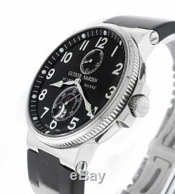 Ulysse Nardin Maxi Marine Chronometer 263-66 Mens 41mm Automatic Watch