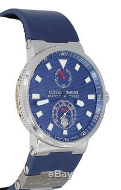 Ulysse Nardin Maxi Marine Diver 263-68 Limited Wave DIal Automatic Men's Watch