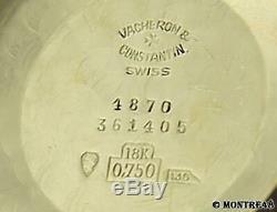 Vacheron & Constantin Automatic 18k Gold Mens 36mm Luxury Swiss 1960s Watch N92