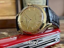 Vacheron Constantin Vintage 18K Solid Yellow Gold Dial men's Automatic Watch Box