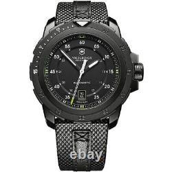 Victorinox Swiss Army Men's Watch Alpnach Mechanical Black Nylon Strap 241685