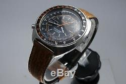 Vintage 1971 JAPAN SEIKO SPORTS5 SPEED-TIMER 7017-6050 21Jewels Automatic